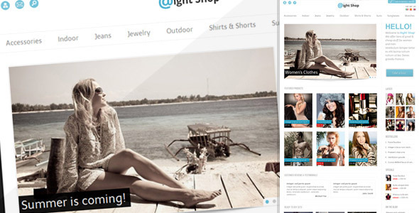 ThemeForest Aight Shop 1686292