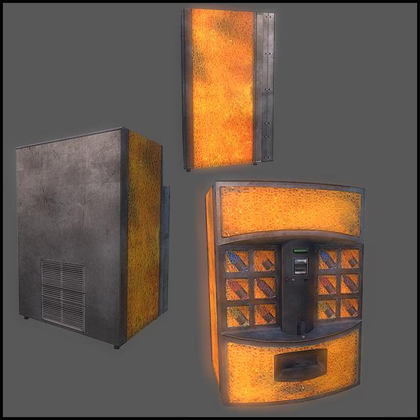 Vending machines - 3DOcean Item for Sale