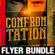 Confrontation Flyer Bundle - GraphicRiver Item for Sale