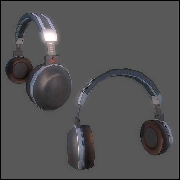3DOcean Headphones 2855838