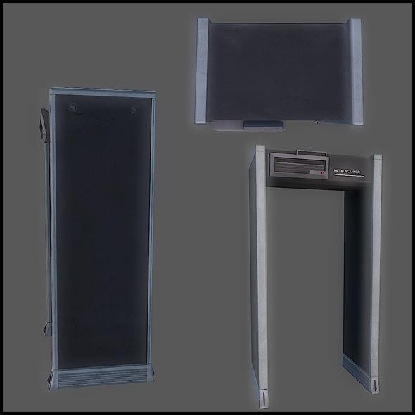 Metal Scanner - 3DOcean Item for Sale