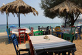 Greek tavern at the beach 3 - PhotoDune Item for Sale