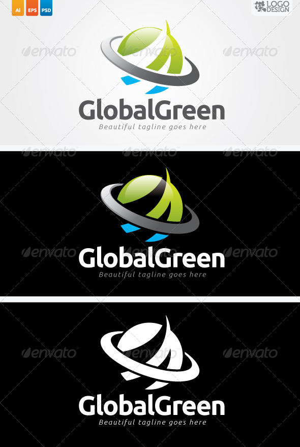 GLobal Green - Nature Logo Templates