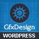 GfxDesign Unique & Creative Wordpress Template