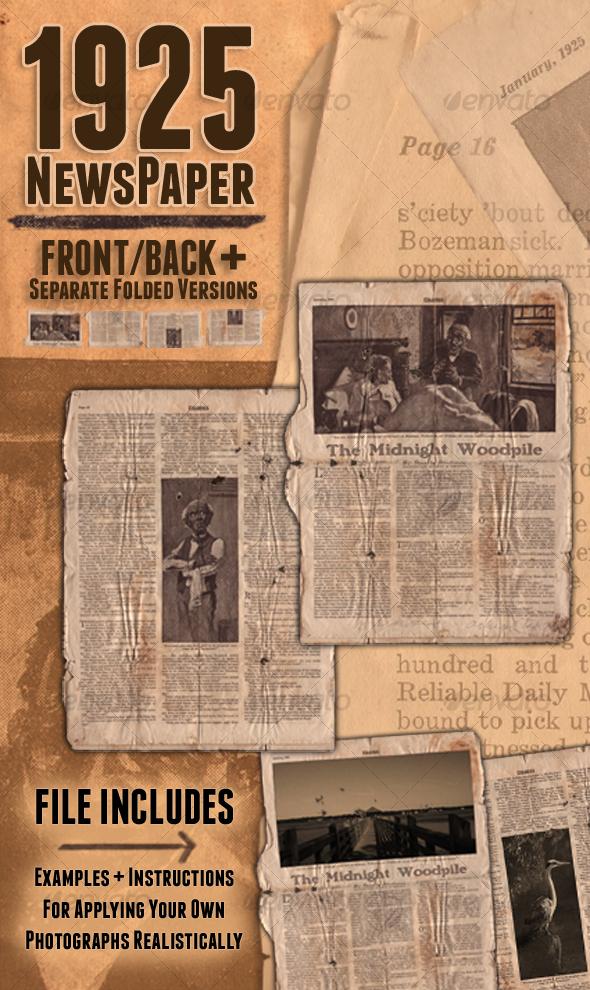 1925 Newspaper