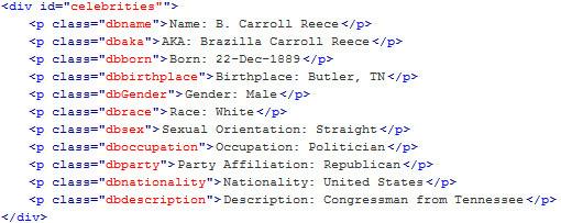 Carroll Erazilla Carroll Butler, United kongresmedlem fra