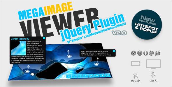 CodeCanyon jQuery Mega Image Viewer animated zoom and pan 2586378