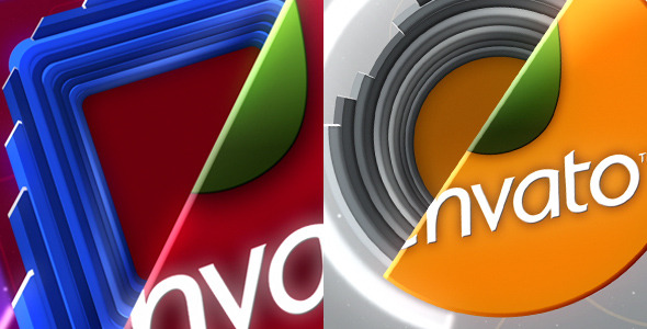After Effects Project - VideoHive Square & Circular Logo Sting 2855334