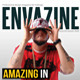 Envazine Magazine Template - GraphicRiver Item for Sale