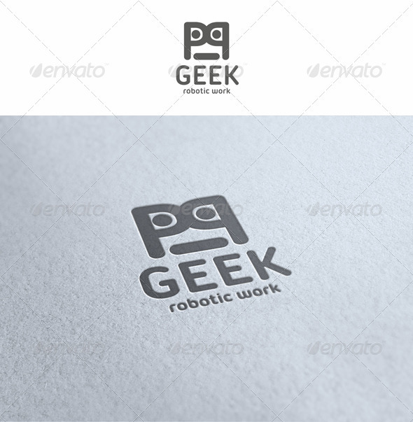Geek - Robotic Work Logo - Symbols Logo Templates