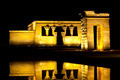 Night at Templo de Debod in Madrid - PhotoDune Item for Sale