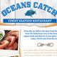 Seafood Restaurant Flyer Template - GraphicRiver Item for Sale