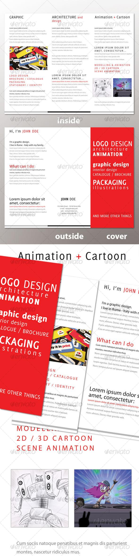 GraphicRiver Personal Tri-Fold Brochure 102766