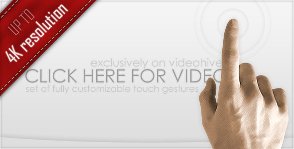 After Effects Project - VideoHive Professional Touch Gestures 303783