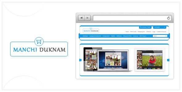 Manchi Duknam Premium Opencart Theme