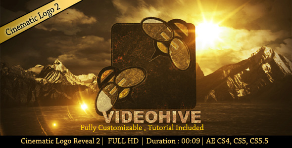 After Effects Project - VideoHive Cinamatic Logo Reveal 2 2861684