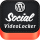 Social Video Locker for WordPress