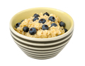 Oatmeal with blueberries in a bowl - PhotoDune Item for Sale