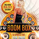 Boom Box Party Flyer - GraphicRiver Item for Sale