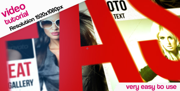 VideoHive Photo Gallery And Kinetic Typography 2862298