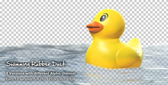 Swimming Rubber Duck