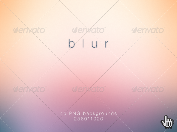 Blur Deluxe Blurred HD Backgrounds