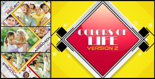 VideoHive Colors Of Life Version2 2863222