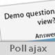 Poll ajax - CodeCanyon Item for Sale