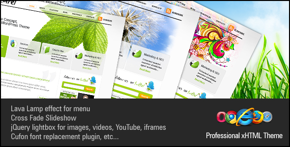 Naturel Professional xHTML+CSS Theme