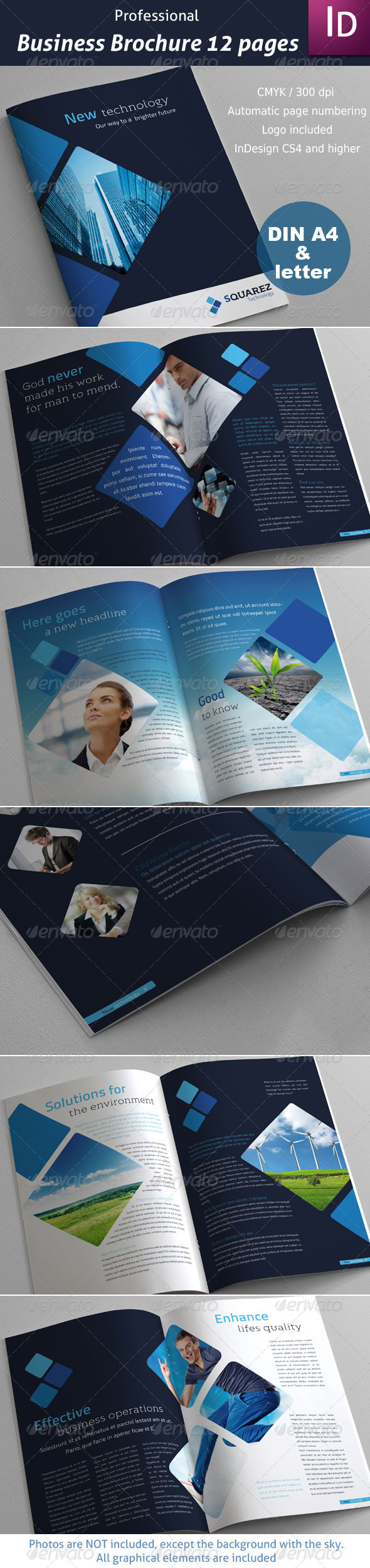 Business Brochure 12 pages - Corporate Brochures