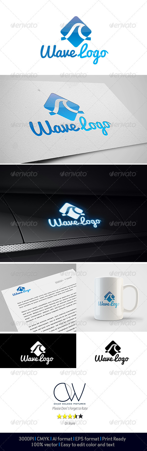 Wave Logo - Abstract Logo Templates