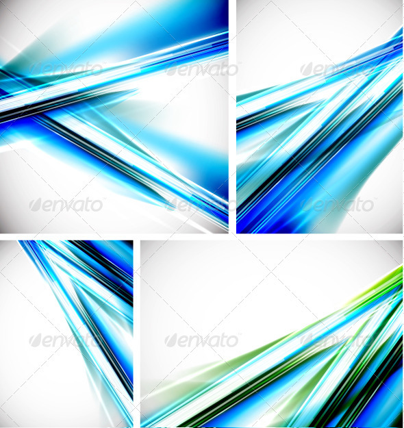 Vector Shiny Lines Backgrounds - Backgrounds Decorative