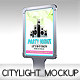 Realistic Citylight Mock-Up - GraphicRiver Item for Sale