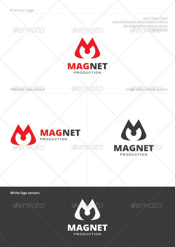 Magnet - Letters Logo Templates