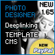 Photography Suite CMS Deeplinking Template - ActiveDen Item for Sale