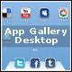 App Gallery Desktop - ActiveDen Item for Sale