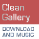 Clean Image Gallery with Optional Music & Download - ActiveDen Item for Sale