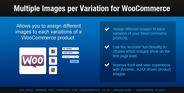 Multiple Images per Variation for WooCommerce - CodeCanyon Item for Sale