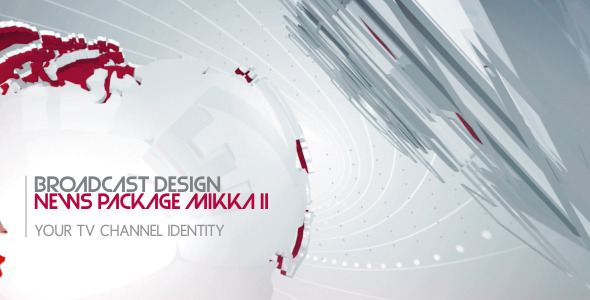 VideoHive Broadcast Design News Package Mikka II 2868209