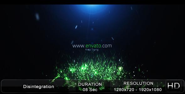 VideoHive Disintegration 2868211