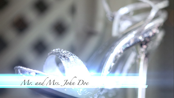 After Effects Project - VideoHive Elegant Wedding Lower Third 2870009