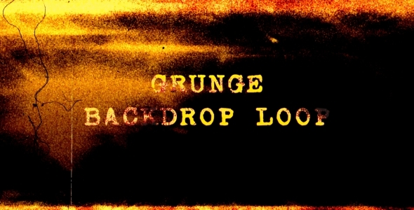 Grunge Backdrop Loop 3