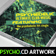 Psychedelic Mixtape CD Artwork PSD Template - GraphicRiver Item for Sale