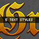 Video Game Logo Text Styles - GraphicRiver Item for Sale