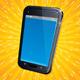 Retro Modern Cellphone - GraphicRiver Item for Sale
