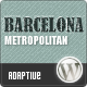Barcelona: Customizable Universal Wordpress Theme - Business Corporate