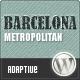 Barcelona: Customizable Universal Wordpress Theme