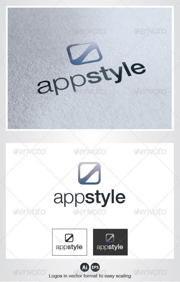 GraphicRiver App Style Logo 2710388