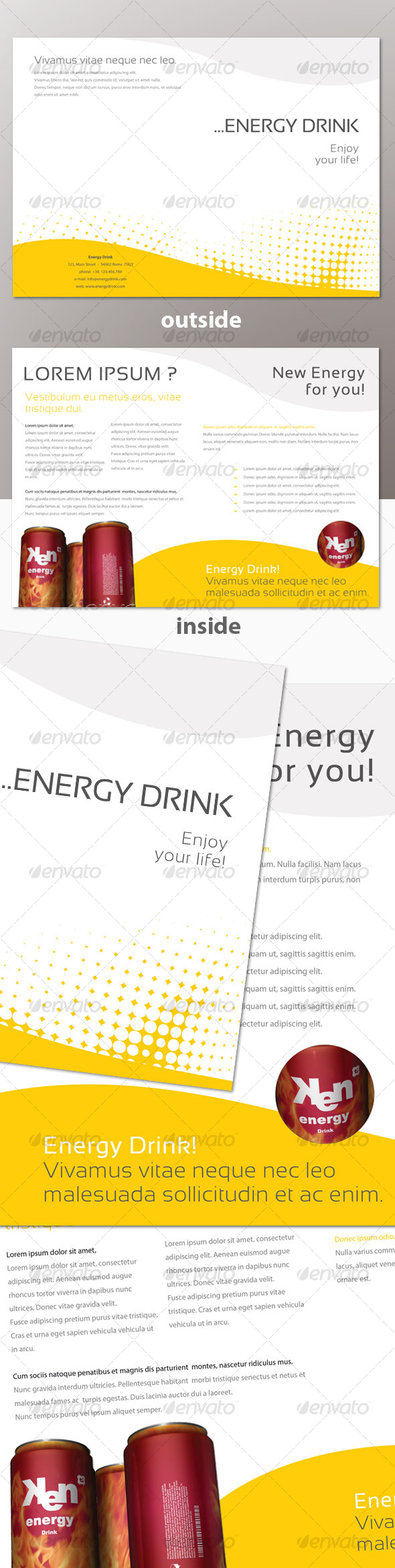 GraphicRiver Energy Brochure 103113