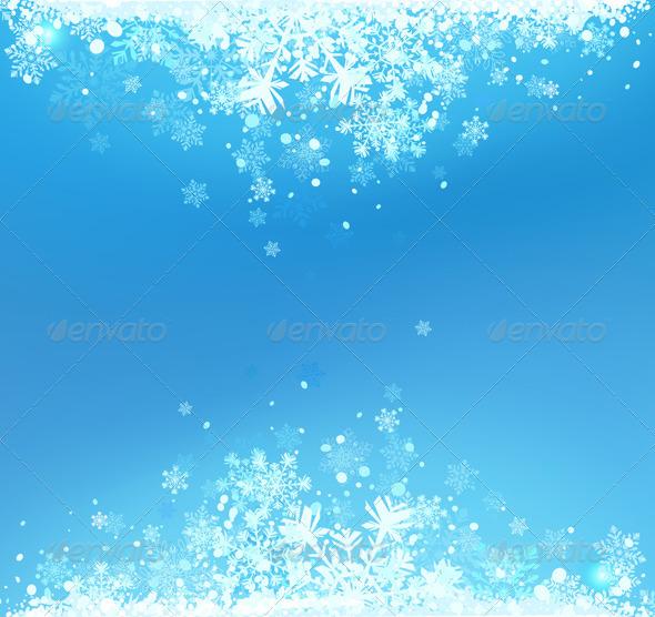 GraphicRiver Winter background 2872214